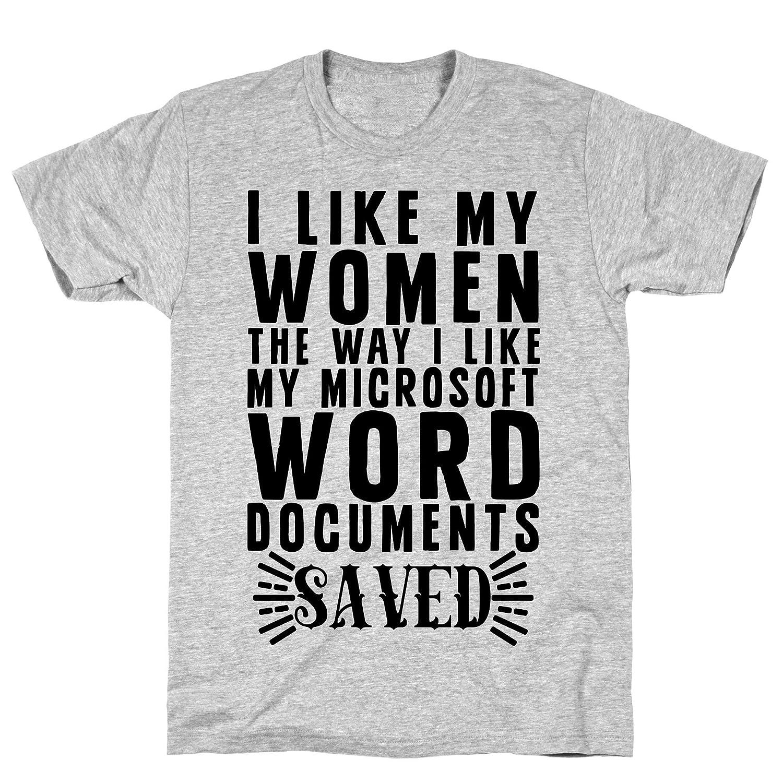 Amazon com: LookHUMAN I Like My Men The Way I Like My