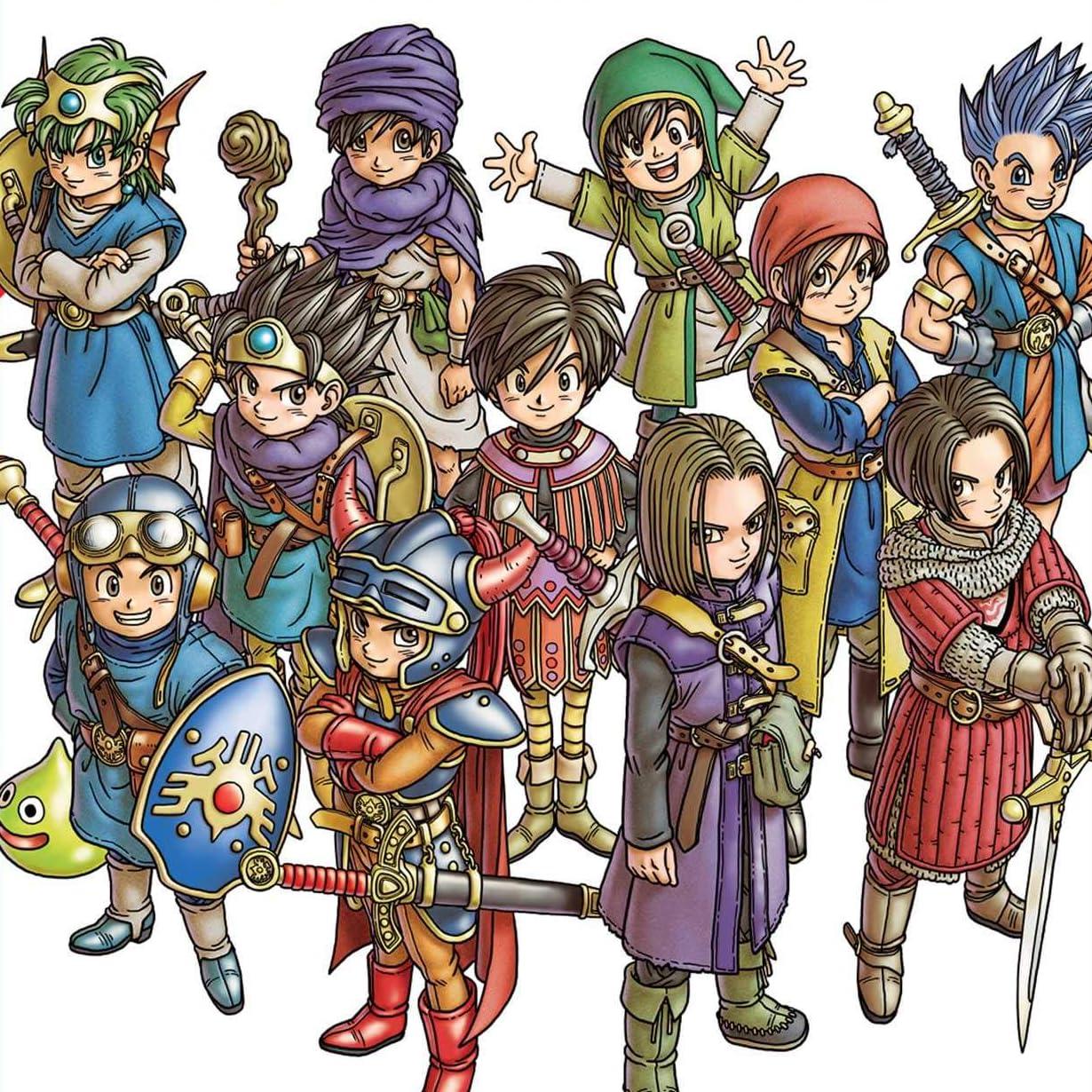 ドラゴンクエスト Ipad壁紙 Dragon Quest Illustrations 30th Anniversary Edition その他 スマホ用画像