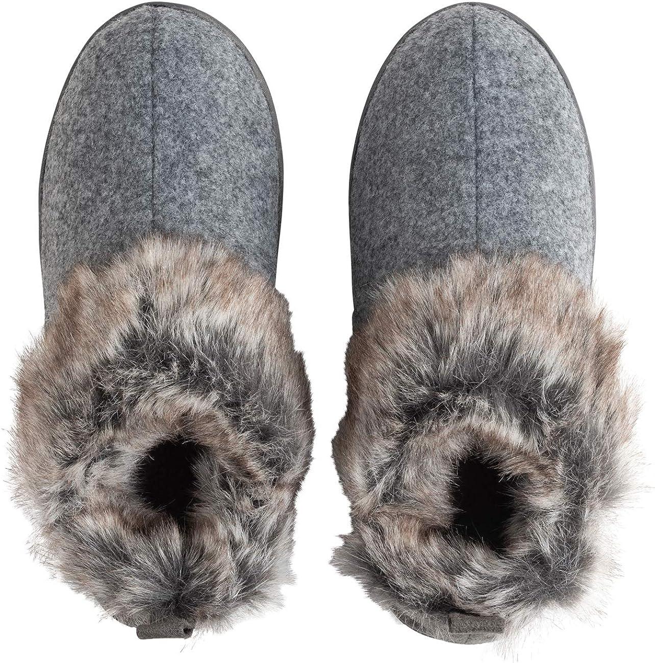 Polar Mujer Espuma De Memoria Mocas/ín Suela De Goma Antideslizante Durable Invierno Interior Al Aire Libre Zapatillas