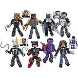 Marvel Defenders Minimates Series 75 Set of 4 Two Packs include Luke Cage, Iron Fist, Daredevil, Ghost Rider, Punisher, Moon Knight, Jessica Jones, Purple Man & Quake Action Figure