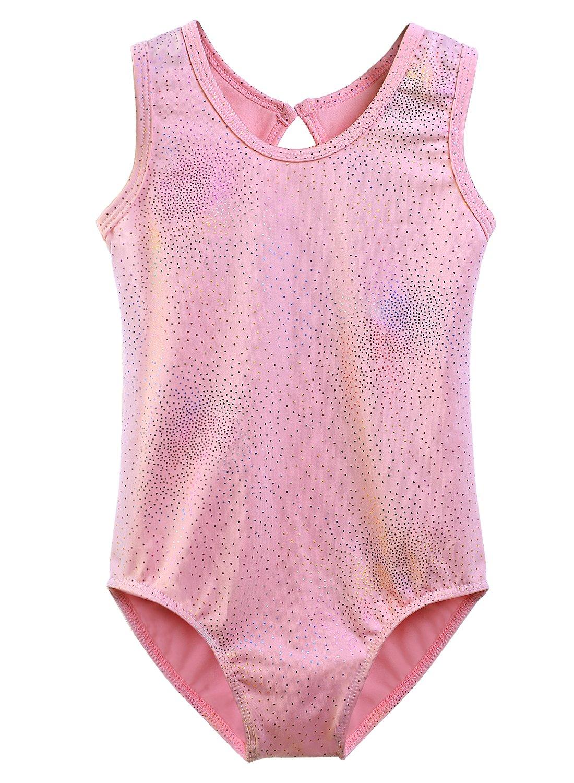 7ef3b8233a66 DAXIANG Gymnastics Leotard for Little Girls Sparkles Dance Clothes Ballet  Tutu 2-10 Years
