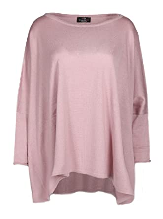 konkurrenzfähiger Preis f4756 aa0e7 Zwillingsherz Poncho mit Baumwolle - Hochwertiges Cape für Damen - XXL  Umhängetuch und Tunika mit Ärmel - Strick-Pullover - Sweatshirt - Stola für  ...