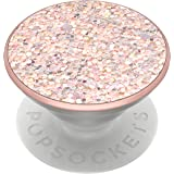 PopSockets PopGrip: Swappable Grip for Phones & Tablets - Sparkle Rose