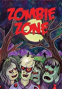 Toland Home Garden Zombie Zone 12.5 x 18 Inch Decorative Spooky Living Dead Halloween Garden Flag