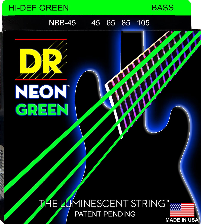 dr strings ngb 45 coated nickel bass guitar strings