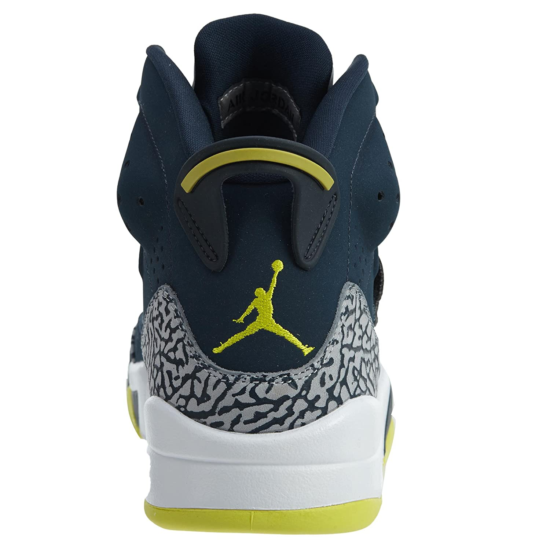 Nike, Air Jordan, Jordan, Jordan, Herren-Turnschuhe, 512245, - Armory Navy Electrolime-Weiß - Größe  44.5 EU 510a47