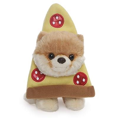 "GUND Boo World's Cutest Dog Itty Bitty Boo Pizza Plush Stuffed Animal, 5"": Toys & Games"
