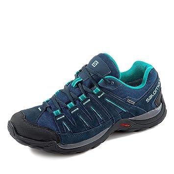SALOMON Sneaker blau Eastwood GTX W