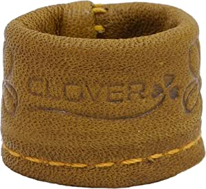 Clover leather thimble S