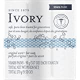 Ivory Bar Soap Original Scent 90 g, 3 count