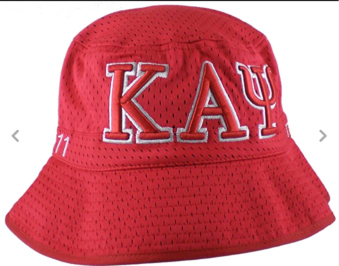 Kappa Alpha Psi Embroidered Bucket Hat  Amazon.co.uk  Clothing 69eee4e4d0ac