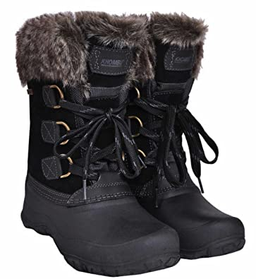 Amazon.com | Khombu Women's The Slope Winter Snow Boots | Snow Boots