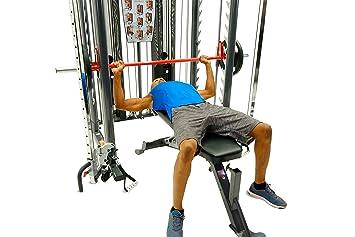 Inspire Fitness SCS Smith jaula jaula de alimentación sistema dual ...