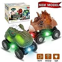 Niskite Dinosaur Toys for 2 3 4 Year Olds Boys, Dinosaur Car for Kids Toddler,Best...