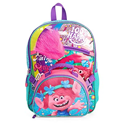 Trolls Girl's Backpack With lunch Bag | Kids' Backpacks