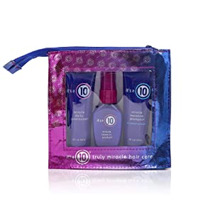 It's A 10 It's A 10 Miracle Daily Travel Set Shampoo Conditioner & Leave-in Product 2 Oz, 2 Oz