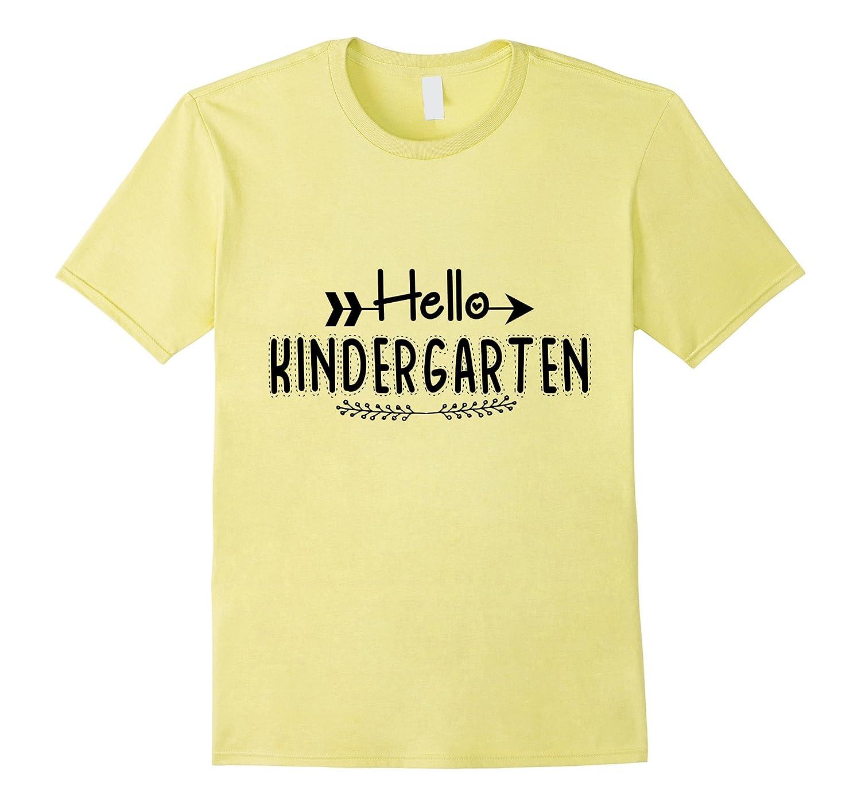 Hello Kindergarten T-Shirt-Art