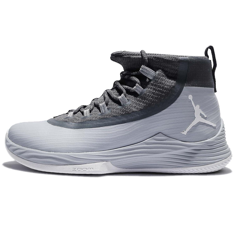 (ジョーダン) ウルトラ フライ 2 メンズ バスケットボール シューズ Jordan Ultra Fly 2 897998-004 [並行輸入品] B0748BN7D8 27.0 cm WOLF GREY/WHITE-DARK GREY