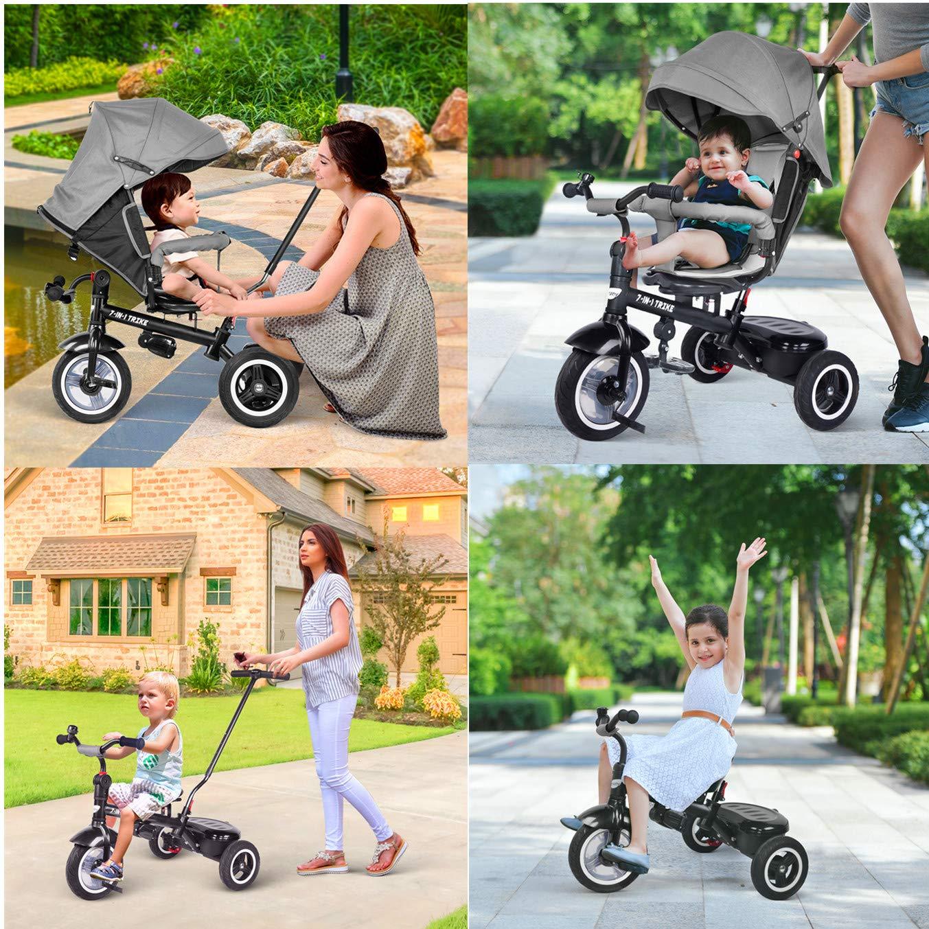 Triciclos Bebes 7 en 1, Besrey Triciclo Bebe evolutivo niños ...