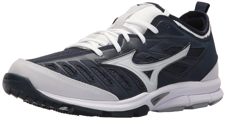Mizuno (MIZD9) Men's Players Trainer 2 Turf Baseball-Shoes B071ZRMNSF 7 D(M) US|Navy/White