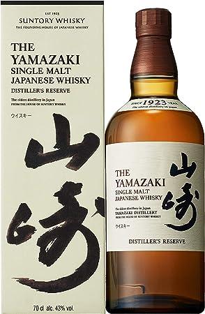 The Yamazaki Distillers Reserve Single Malt Japanese Whisky, 43% - 700 ml