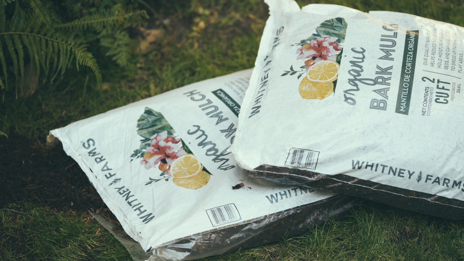 SCOTTS ORGANIC GROUP 10101-87901 Whitney Farm 2 CUFT Organic Bark Mulch