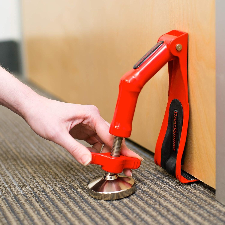 Doorjammer Lockdown Tragbares Türschloss Für Haussicherheit Und Persönlichen Schutz Dj4ld Doorjammer Lockdown Schwer Bürobedarf Schreibwaren