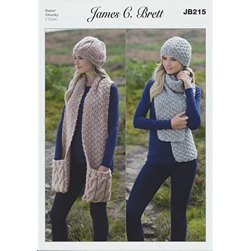 Hat And Scarf Knitting Patterns Amazon
