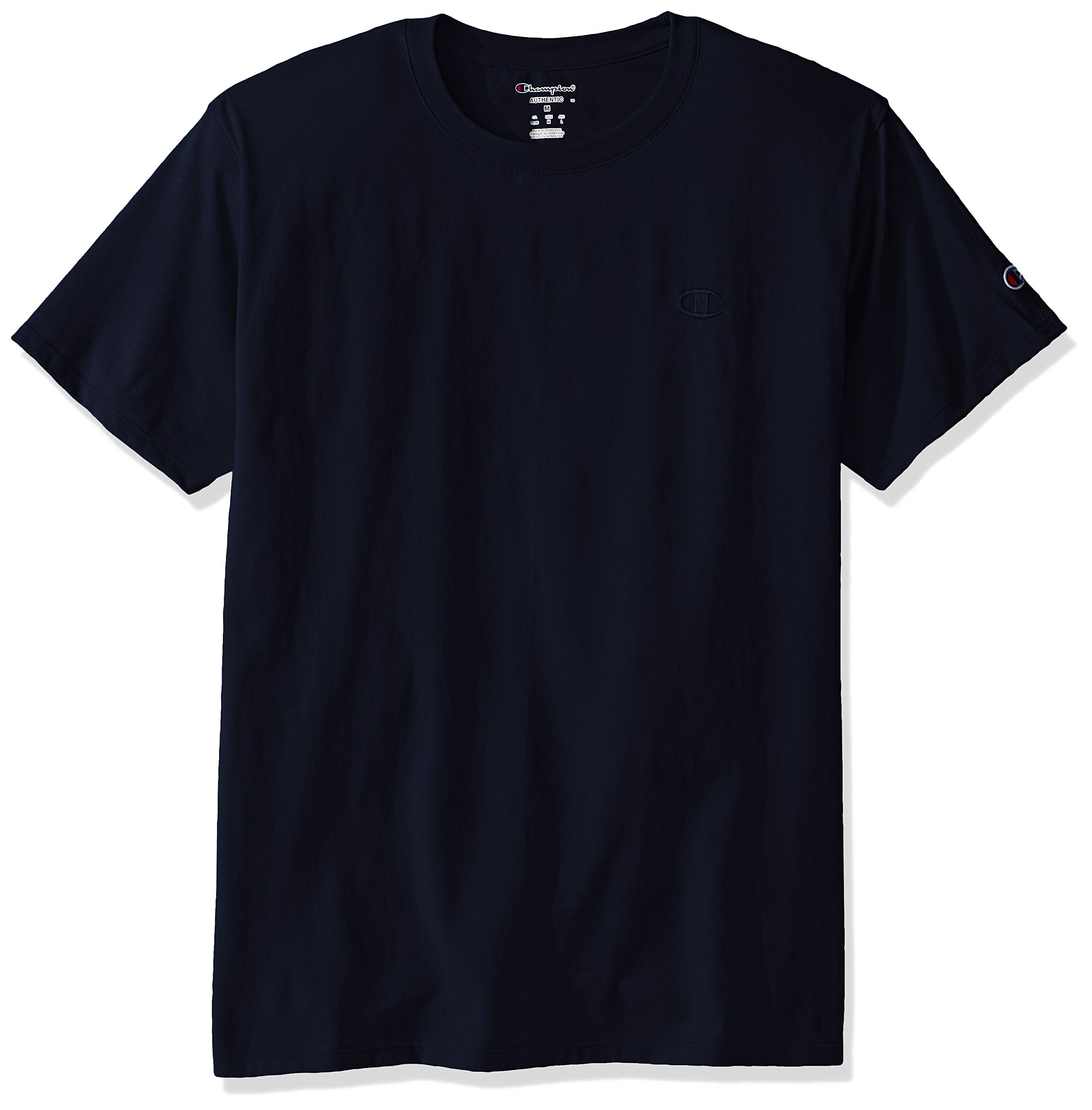 Champion Men's Classic Jersey T-Shirt, Navy, L by Champion