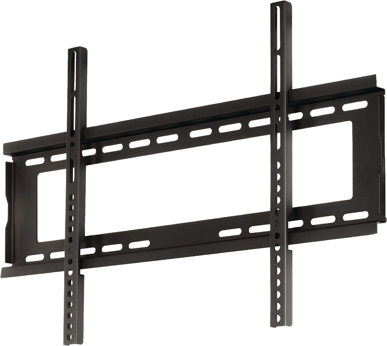Nero Valueline Supporto TV da Parete Fisso da 42-65//107-165 cm 45 kg
