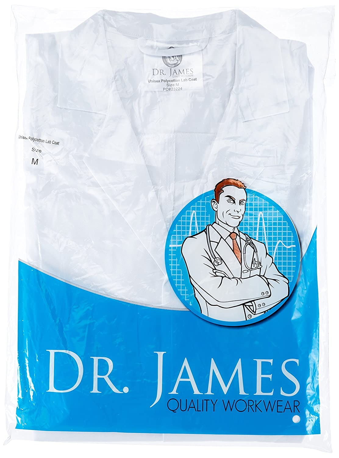 Dr. James Estudiante Laboratorio Kit - Bata de Laboratorio y Gafas de Protección: Amazon.es: Industria, empresas y ciencia