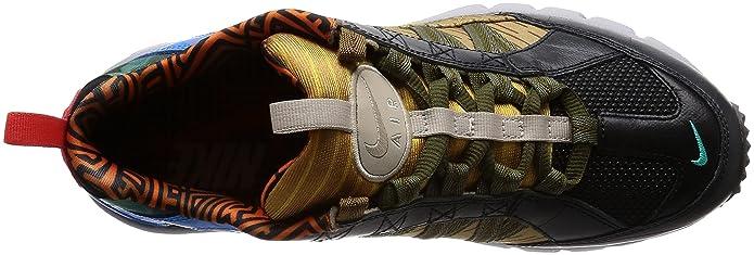 Nike Air Humara '17, Zapatillas de Gimnasia para Hombre, Multicolor (Dark Grey/Light Silver/University Gold/Dark Army 002), 43 EU