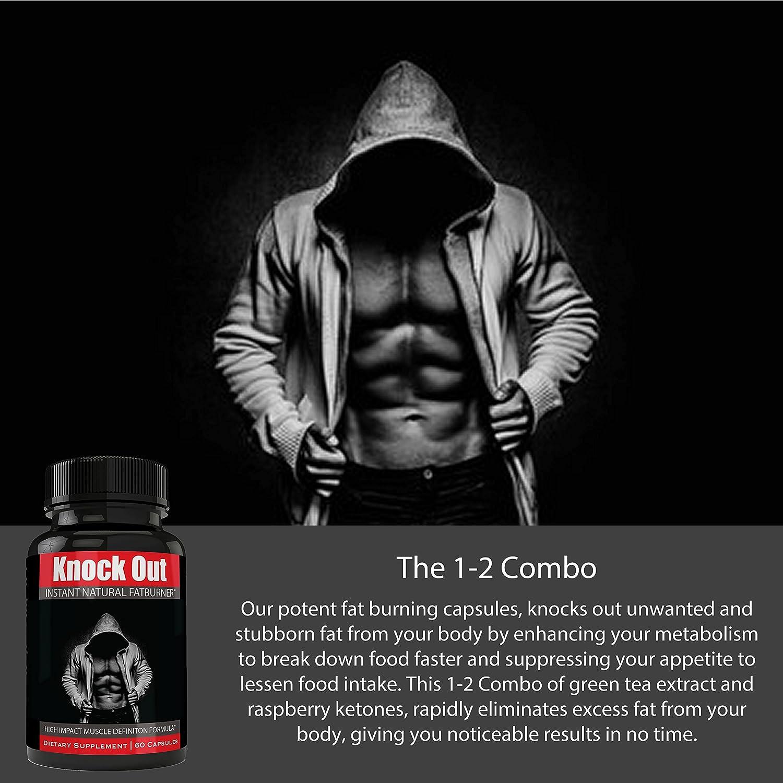 Instant Knockout Fat Burner Diet Supplement Pill For Men