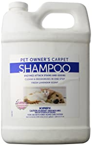 KIRBY Genuine 237507S Pet Owners Foaming Carpet Shampoo (Lavender Scented) Use with SE2 Sentria 2 G11, Sentria SE G10 G9, DE G8 Diamond Edition, ULTG G7, G6 G2001, G5, G4, G3,Legend, Heritage Tradition, Classic (1 Gallon)