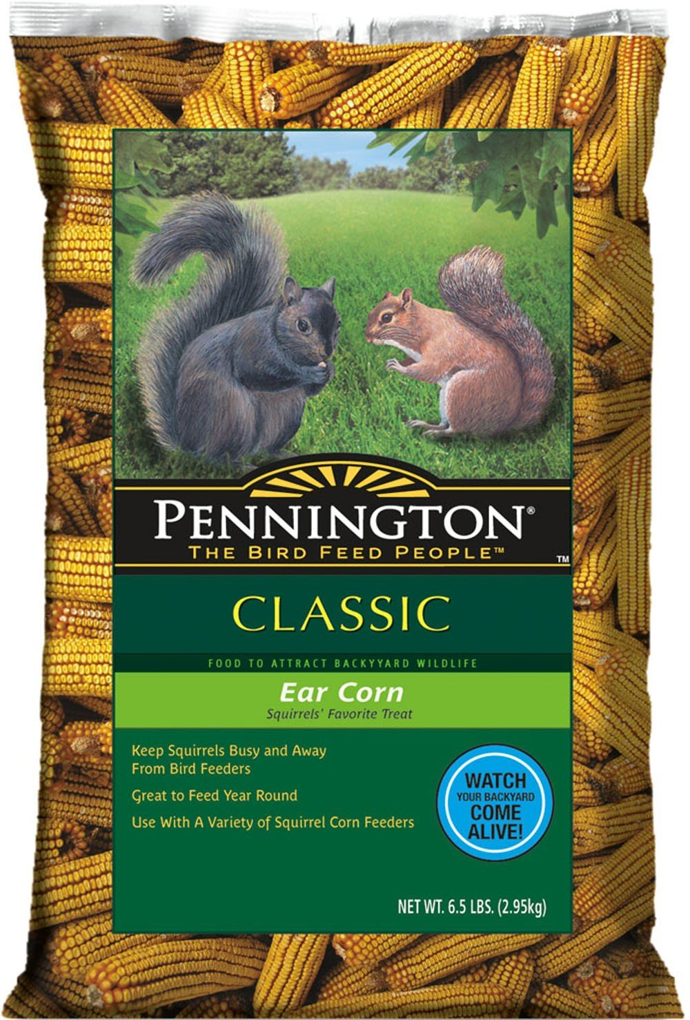 Pennington Ear Corn on Cob Squirrel Food, 6.5-Pound