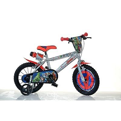 Robbie Toys Dino Bikes 414U-AV 14-Inch Avengers Bicycle: Toys & Games