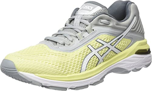 Asics Gt-2000 6, Zapatillas de Running para Mujer, Amarillo (Limelight/White/Mid Grey 8501), 41.5 EU: Amazon.es: Zapatos y complementos