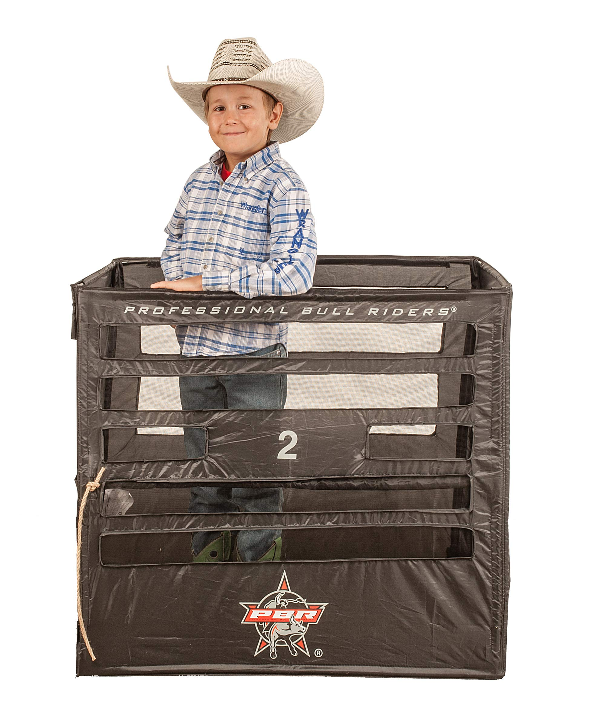 Big Country Toys PBR Bucking Chute - Kids Bouncy Toy Accessories - Kids Bucking Chute - Rodeo Toy by Big Country Toys