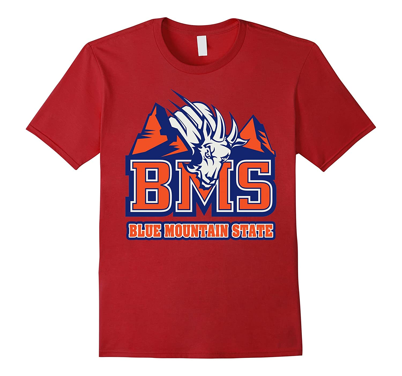 Blue Mountain State Goat House Logo Tshirt-RT