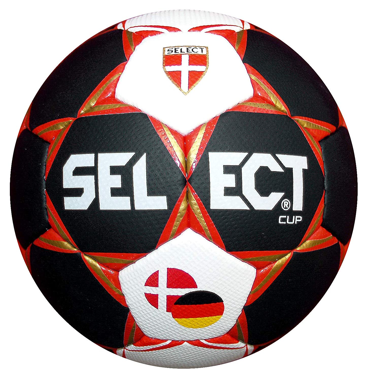 Select Sport SMU World Cup 2019 (in Ger + DK) – Blanc/SW/ge, Taille 3
