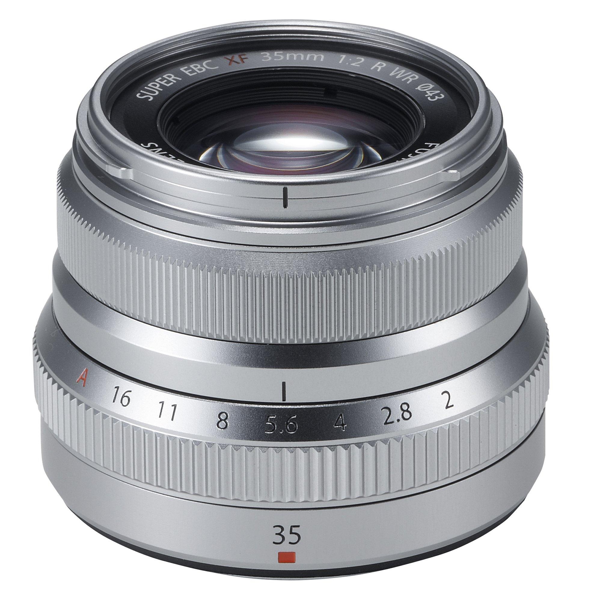 Fujifilm Fujinon XF35mmF2 R WR - Silver