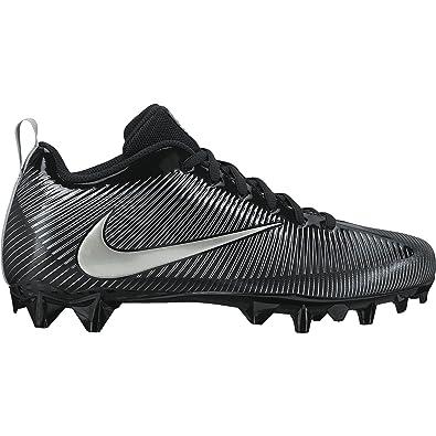 Boy's Nike Vapor Strike 5 TD (GS) Football Cleat Black/Metallic Silver Size