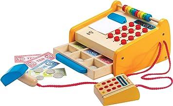 Hape- Caja registradora, Multicolor (Barrutoys HAP-E3121AE): Amazon.es: Juguetes y juegos