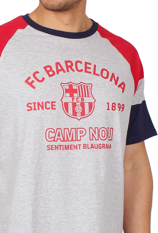 FC Barcelona Pijama Manga Corta University para Hombre