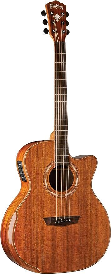 Washburn wcg55ce Western Guitarra: Amazon.es: Instrumentos musicales