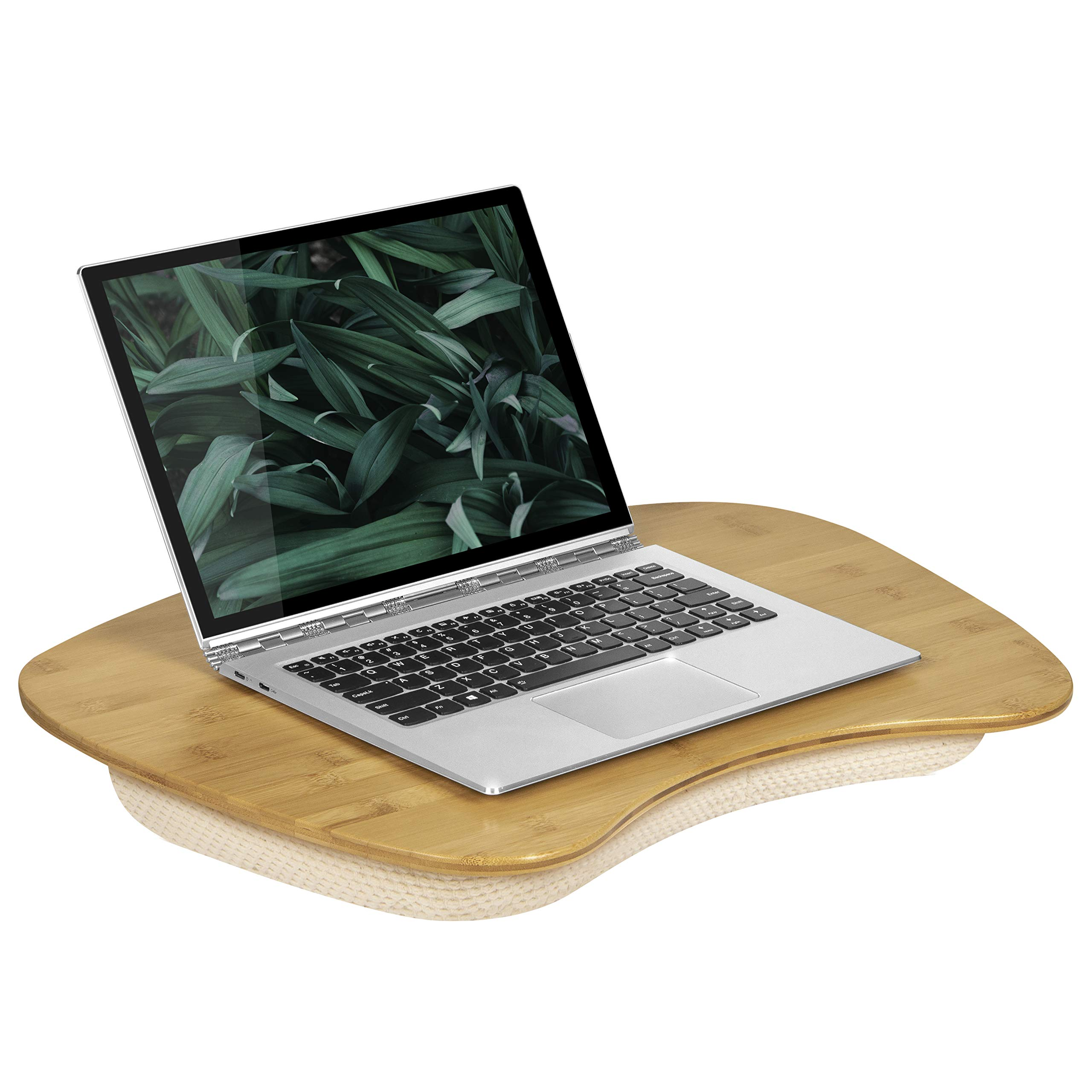 LapGear Bamboo Lap Desk - Fits Up to 17.3 Inch Laptops - Style No. 91697
