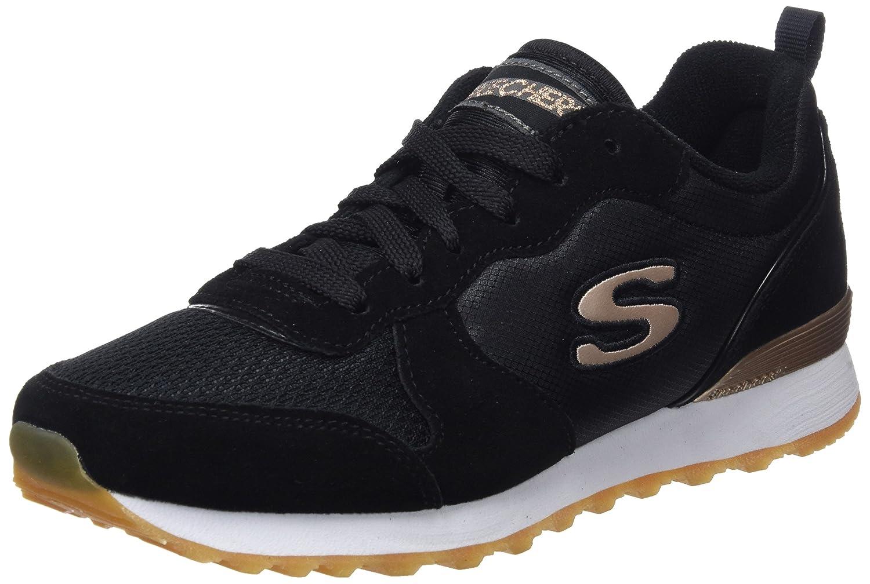 Skechers Originals OG 85 Goldn Gurl, Zapatillas Mujer 36 EU|Negro (Blk)