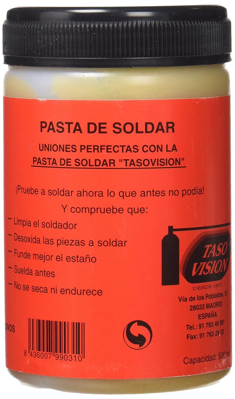 tasovision - Tasovision Pasta De Soldar 500Ml: Amazon.es: Industria, empresas y ciencia