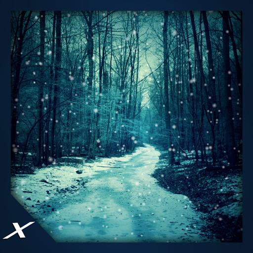 Virtual Snowstorm - Free (Christmas Wallpaper Hd Snow Lights)