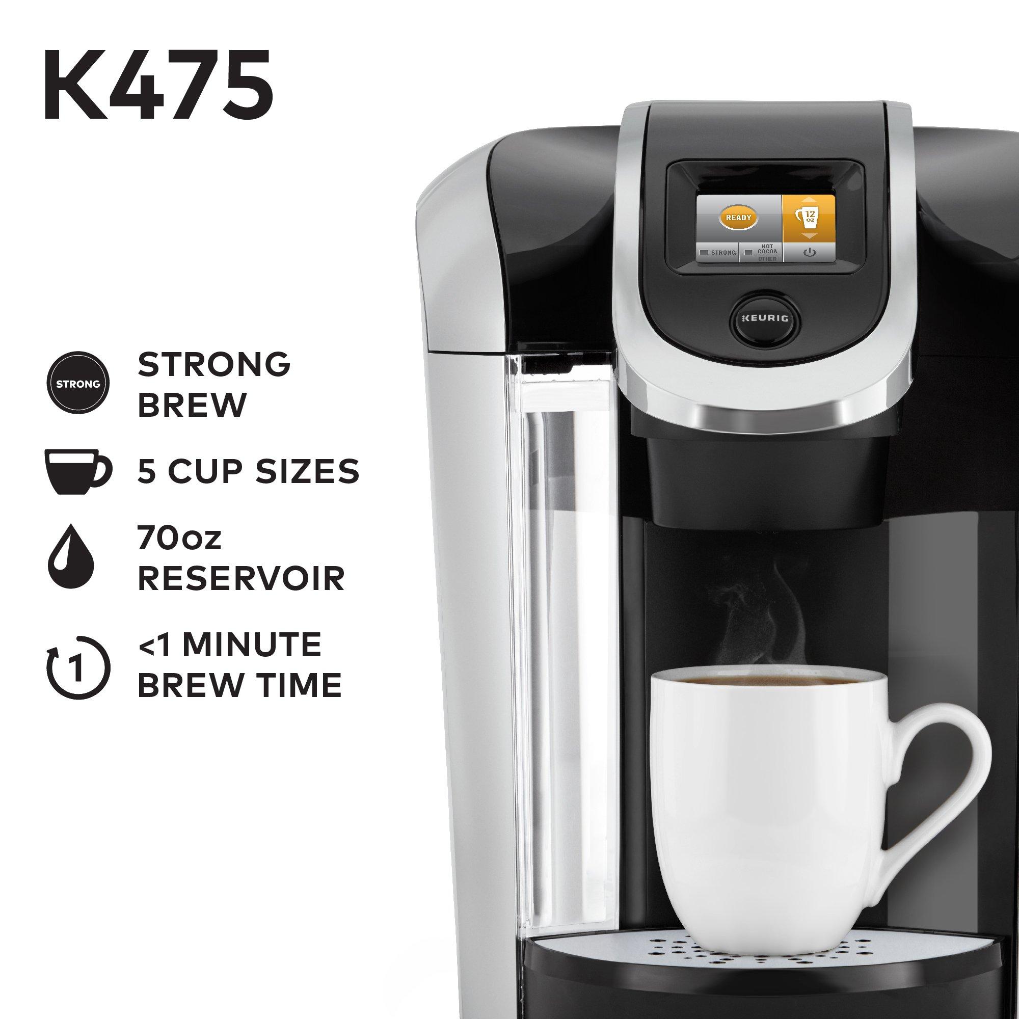 Galleon Keurig K475 Single Serve K Cup Pod Coffee Maker